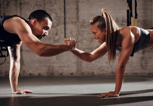 Benefits Of Working Out With A Partner